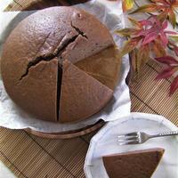 ラム酒風味のあんこケーキ