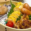 【お弁当】お弁当作り/ワンパン弁当/柚子胡椒チキン