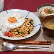 【レシピ】大豆ミート入り!鶏むねでヘルシー肉そぼろ♪鈴懸のおはぎ。