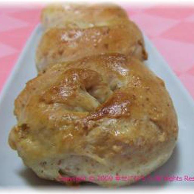 干し芋キャラメルパン