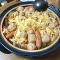 鶏団子と野菜たっぷりのトマト鍋 by やまがたんさん