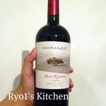 赤ワインとパスタ