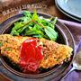 ♡包まない!甘辛オムレツ♡【#簡単レシピ#卵#ひき肉#時短#節約】