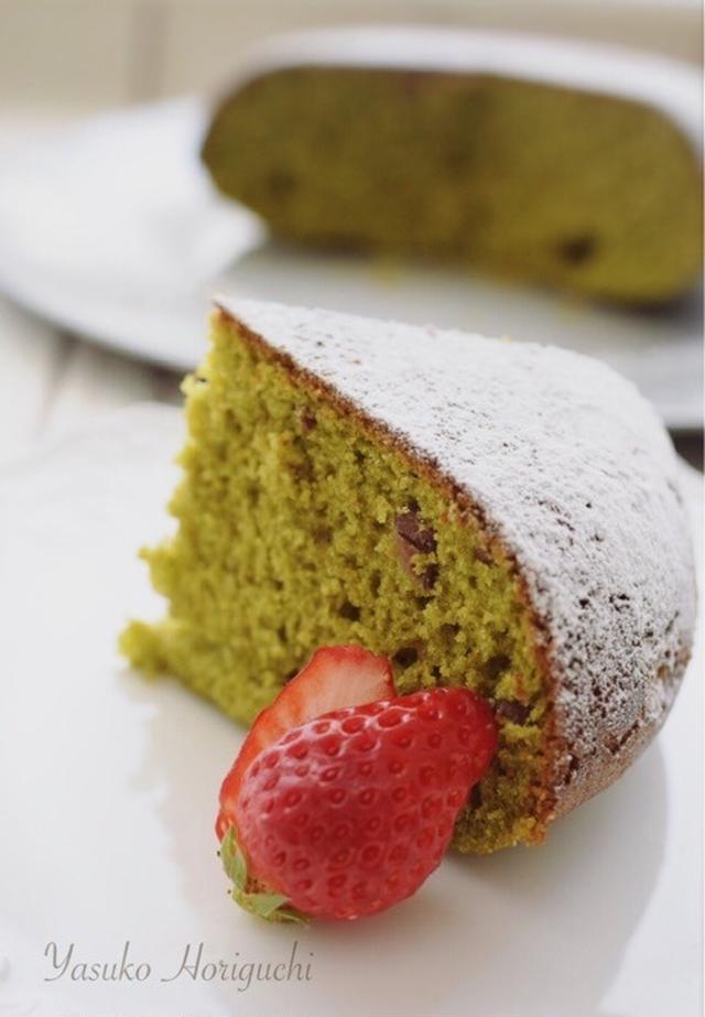 1. 簡単抹茶ケーキ