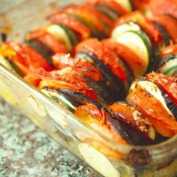 プロバンス風夏野菜のオーブン焼き
