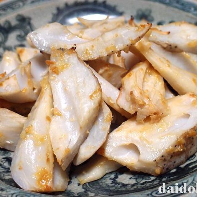 レンコンのニンニク醤油麹焼き | あおもり発すくすくニンニク