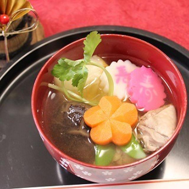 【お正月】水出汁とめんつゆで簡単お雑煮