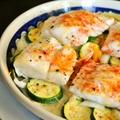 【ニューイングランド風 たらのオーブン焼き】たっぷり野菜とシンプルに!
