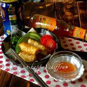 フィリピン風春巻き、ルンピヤシャンハイのレシピ。