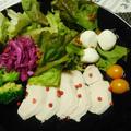 鶏ハムと妹のアメリカ土産♪ by watakoさん