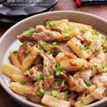 【レシピ】豚こまと長芋のシャキトロ♡オイマヨ炒め*そしてついに買った♡#おかず #豚肉 #自炊 #やみつき #自己満足