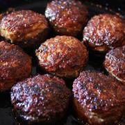 椎茸の肉詰め