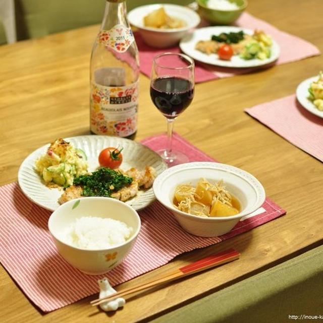 マフモコって知ってる?と、≪レシピ≫ワインに合う◎たこのポテサラ!