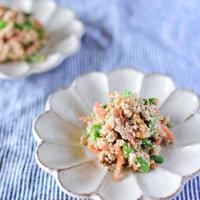 旬のインゲン豆をたっぷり食べよう♡【インゲン豆の白和え】