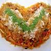 甘シビ辛っ♪さきいか&新生姜のタイ風トマトナムル丼