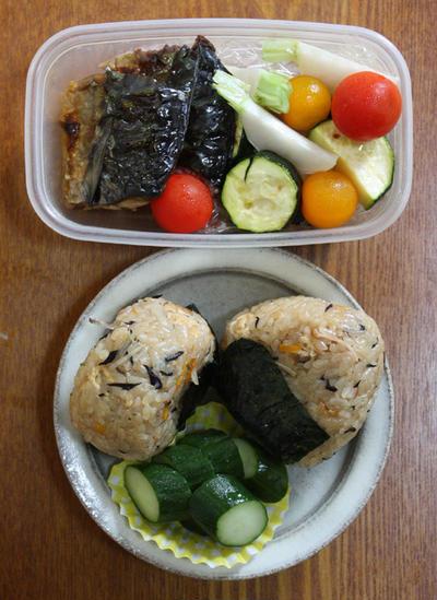 炊き込みご飯―今日のお弁当