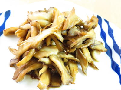簡単☆舞茸のバターポン酢ソテー