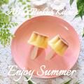 【作り置き】プッチンプリンアイスクリーム 老若男女がトキめく夏の簡単デザート 小ネタです♪
