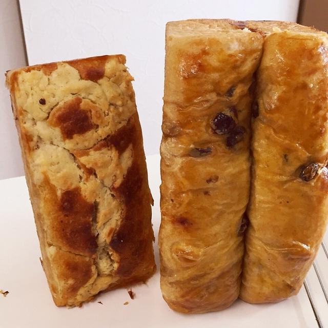 酵母のメロンパンケーキ☆酵母ラムクランベリーレーズン珈琲パン