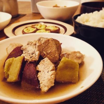 ★レシピ★鶏胸肉とさつまいものスパイス煮