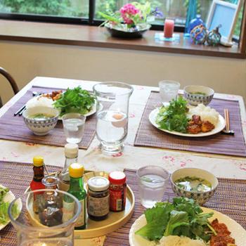 7月のワイワイランチパーティーのテーマはベトナム料理です
