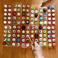 【高齢者(在宅介護)レクリエーション】卵のパックとペットボトルキャップと割り箸を使って『120個たこ焼きゲーム』に挑戦してみた