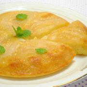 フライパンで作る 梨のケーキが 簡単で絶品!〜マイナビニュースに掲載〜