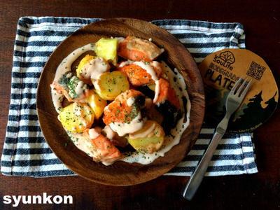 【簡単おすすめ!魚レシピ】鮭とじゃがいものこんがりマヨソース