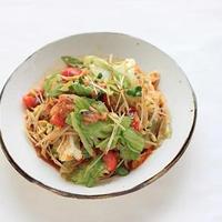 レシピ「たっぷり野菜のキムチサラダ」とお盆中のこと♪