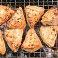 自家製マグロみりん漬けの炭火焼