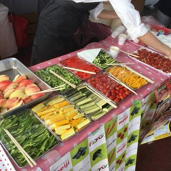 野菜の日イベント☆チョコベジ
