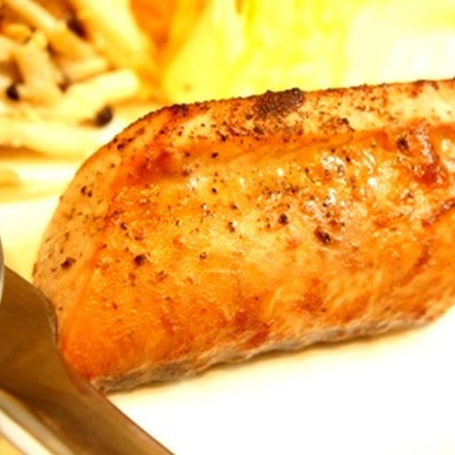 鰹のスペアリブ風、ひじきの黒いポタージュ、季節野菜のチーズグリルと日本酒のマリアージュ