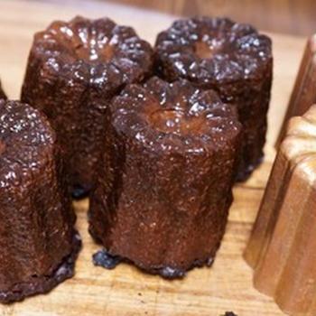 【レシピ動画】チョコレートのカヌレ