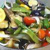 八角香る野菜の揚げ浸し
