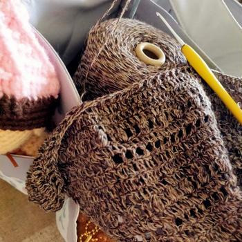 編み物でリフレッシュ