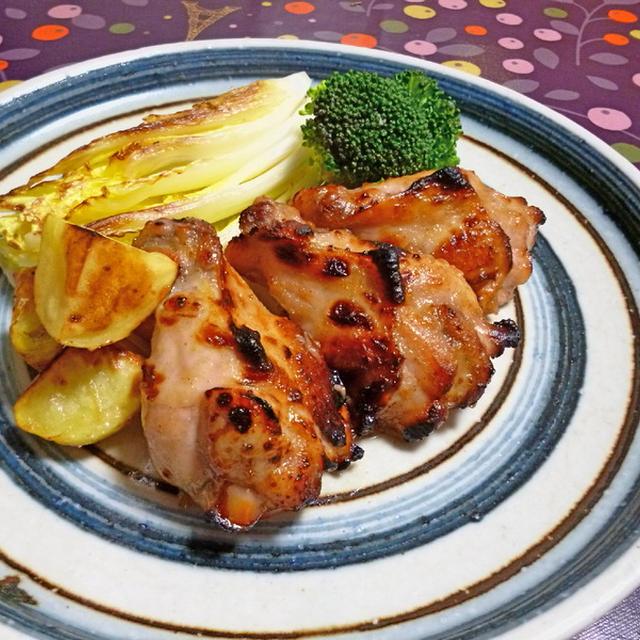 鶏手羽元の中華風グリル