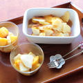 りんごと桃のコンポート【レシピ】 by ひなちゅんさん