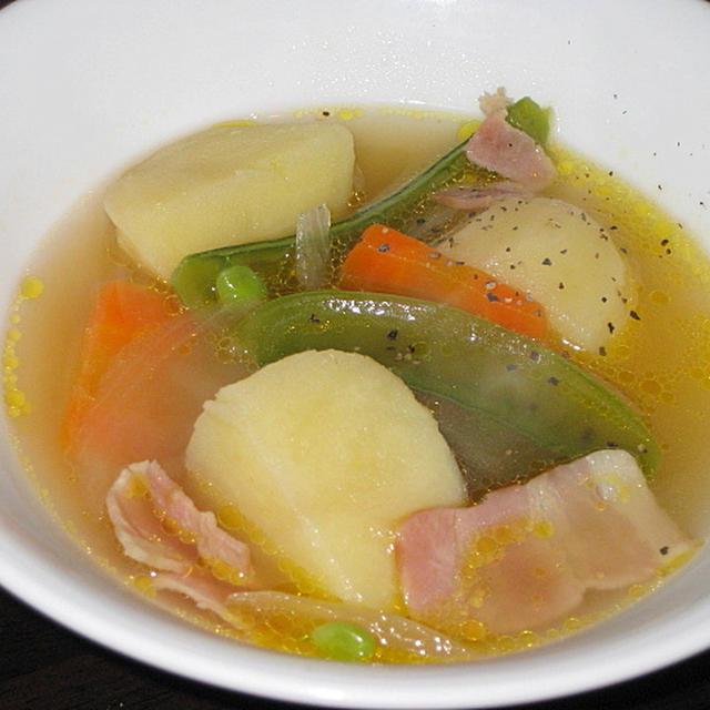 新じゃがのスープ煮