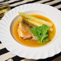 【ヤマキだし部】メバルだけのブイヤベース。おだしを使った濃厚スープが絶品。