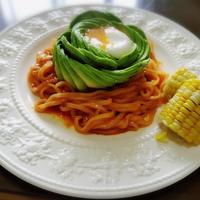 【家ごはん】 甘辛~が癖になる♪ アボカド♥ビビン麺 混ぜるだけ簡単! *フィリピンの食卓