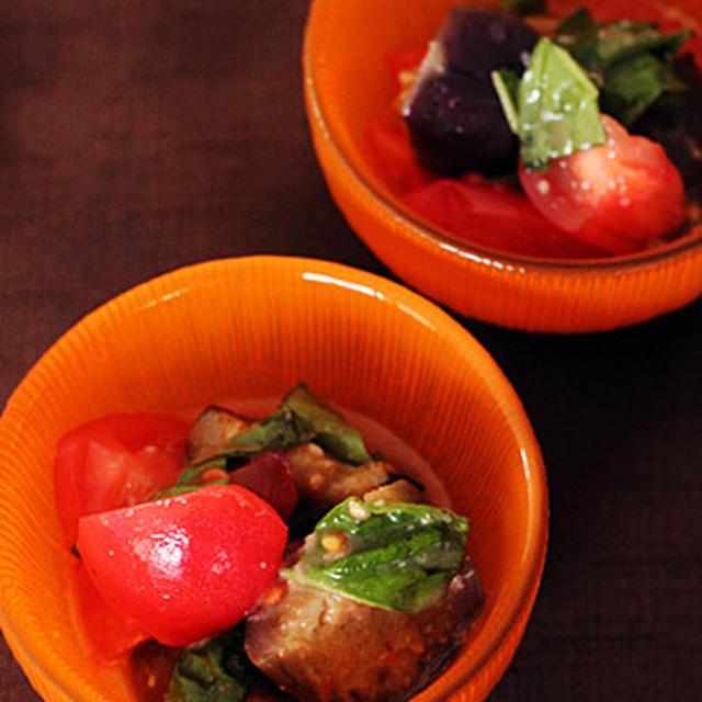 夏野菜のスパイシーマリネ