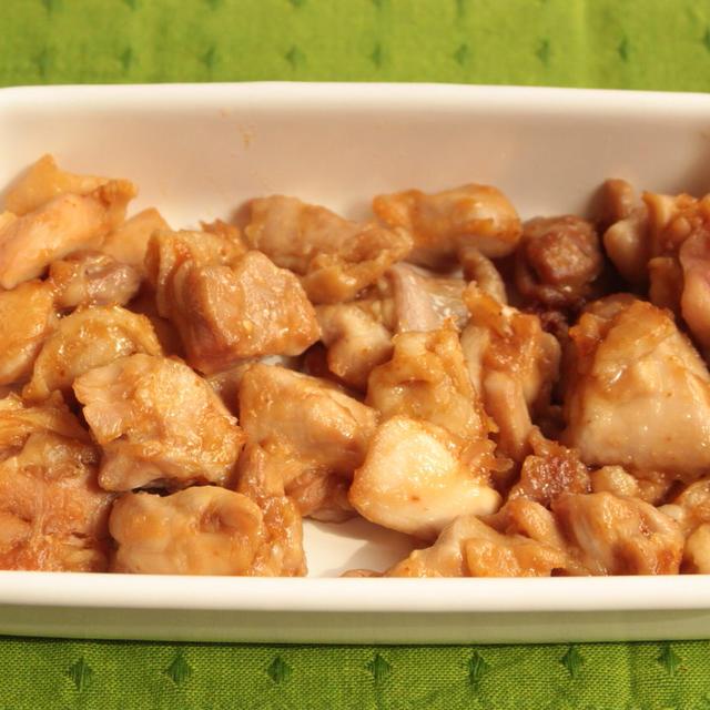 レンジで簡単お弁当おかずレシピ。ピリ辛からあげの作り方。
