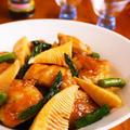 鶏肉と筍のオイスター炒め♪簡単たけのこレシピ
