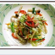 ✿旨い熱をたべよう・野菜炒め✿