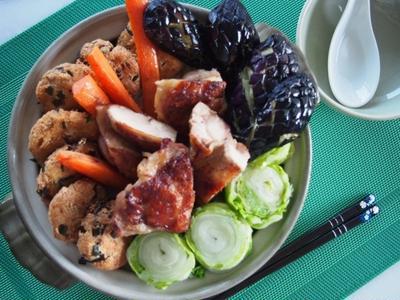 フォトジェニック鍋〜スープカレー風