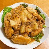 【圧力鍋レシピ】グレフルハニーマスタードチキン