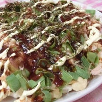 とんかつソースで満足☆ お好み焼き風千切りキャベツのサラダ