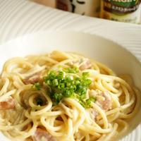【モニター】だし×オイルで豆乳とえのきの白い和風クリームスパゲティ