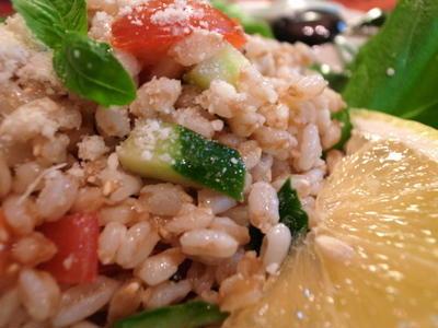 Farro (スペルト小麦)のサラダ
