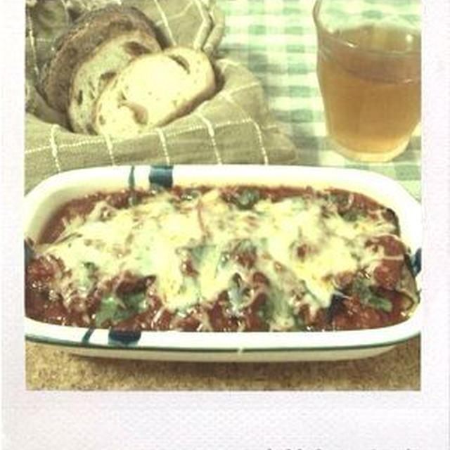 夏野菜!茄子とトマトで簡単グラタン